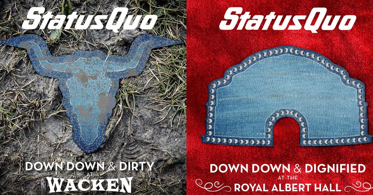 Status Quo: Zwei neue Live-Alben der Kultrocker