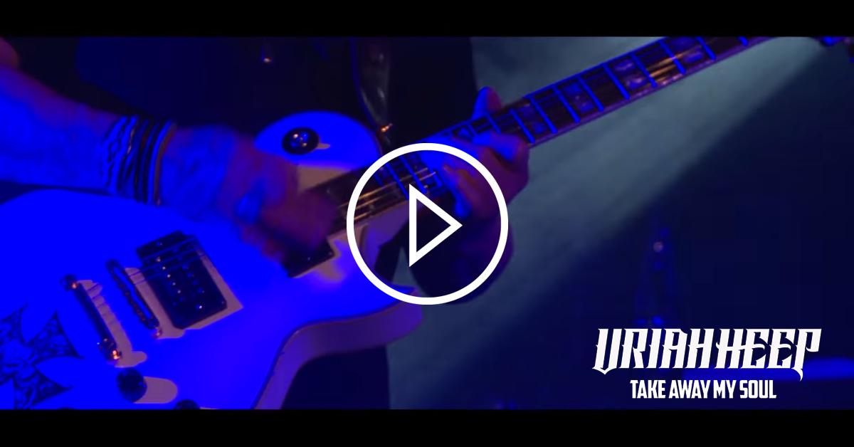 Uriah Heep: Seht das neue Video in der Weltpremiere auf ROCK ANTENNE Hamburg!
