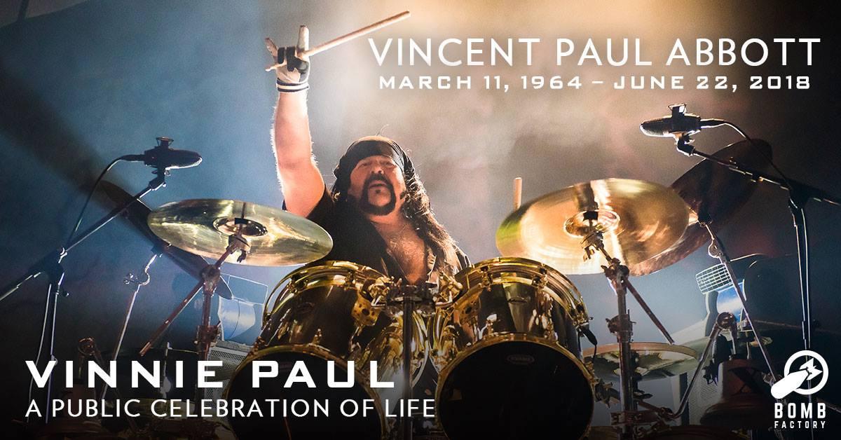 Vinnie Paul: Der Pantera-Drummer wird am Wochenende beerdigt