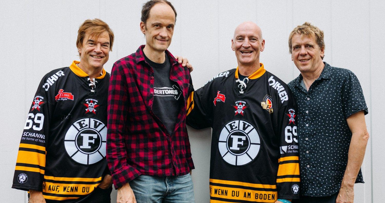 Die Toten Hosen: Trikotsponsor für Füssener Eishockey-Verein
