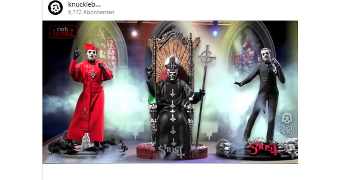 Ghost: Neue Actionfiguren für Tobias Forge