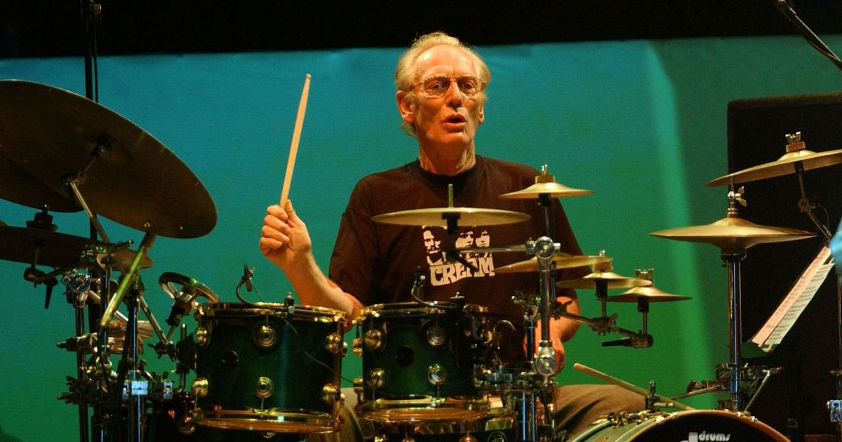 Sorgen um Ginger Baker: Drummer-Ikone liegt im Krankenhaus