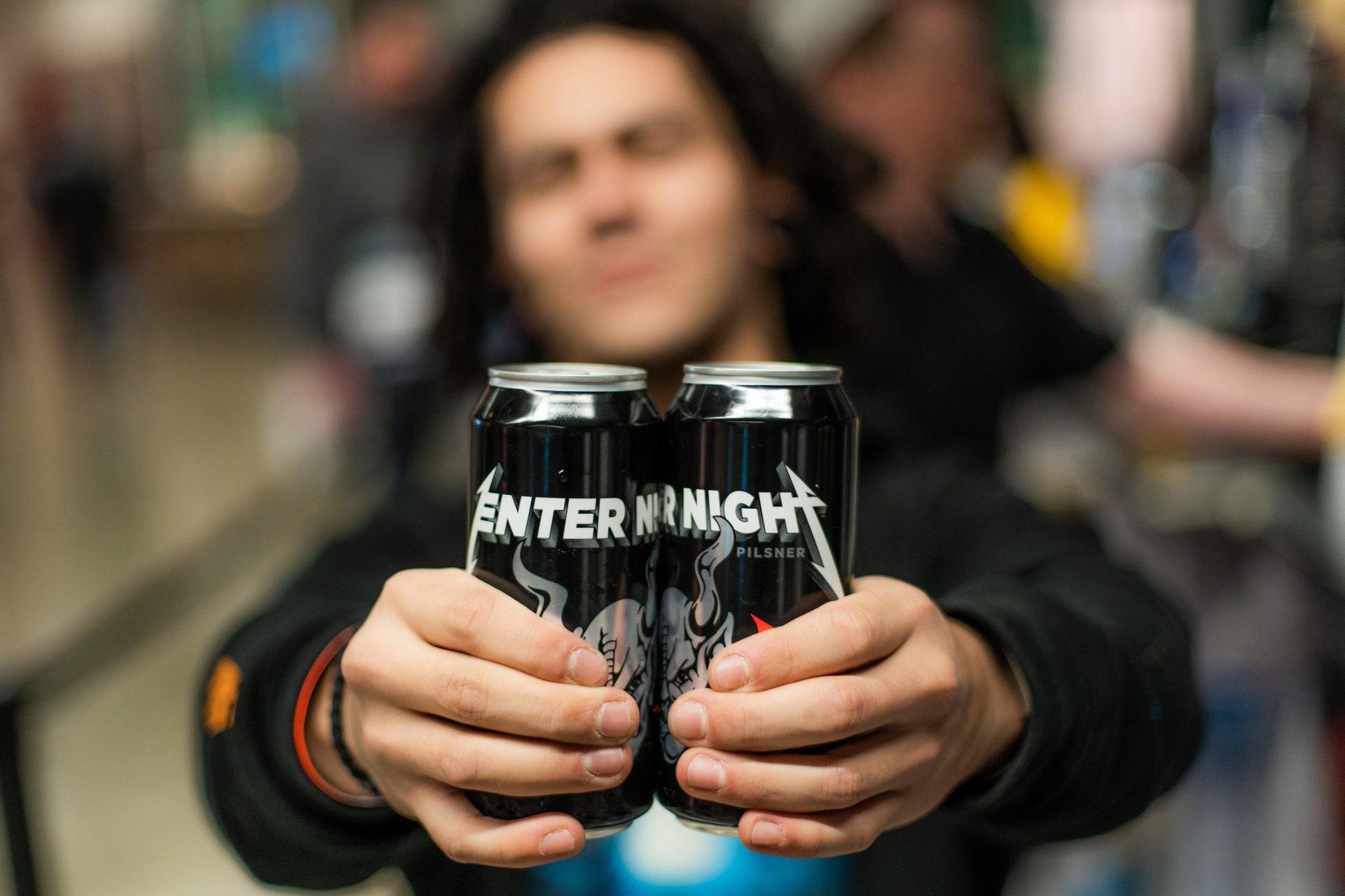 """Metallica: Neues Bier """"Enter Night"""" kommt im Frühjahr"""