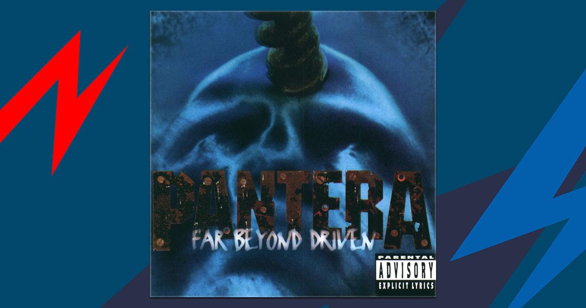 "25 Jahre ""Far Beyond Driven"": Dein Name im Pantera-Schriftzug!"