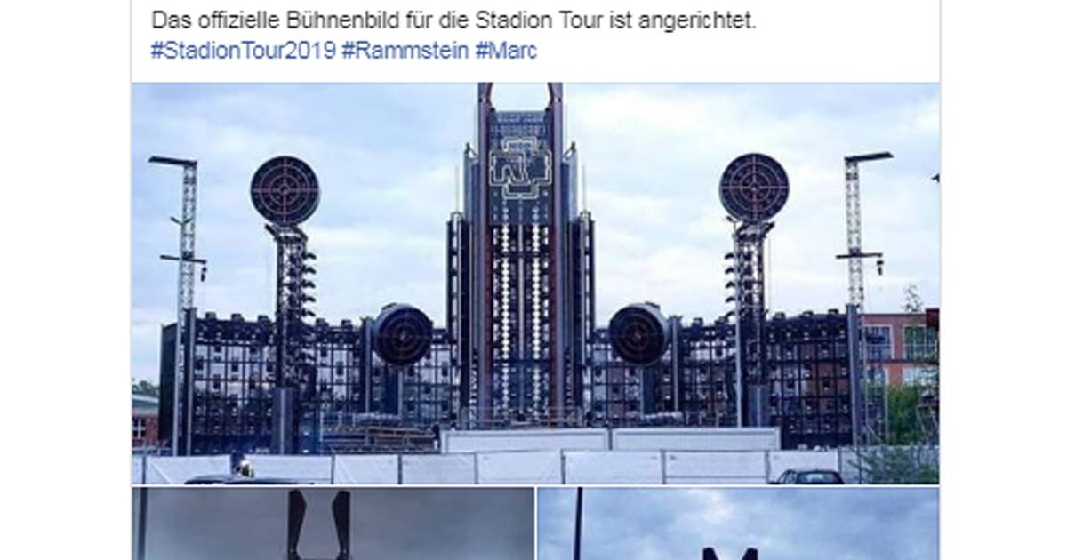 Rammstein: Erste Fotos von der neuen Bühnenshow