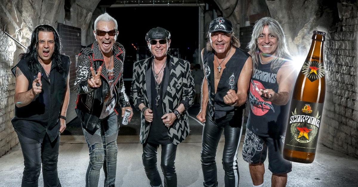 Scorpions: Hard Rocker stellen ihr eigenes Bier vor