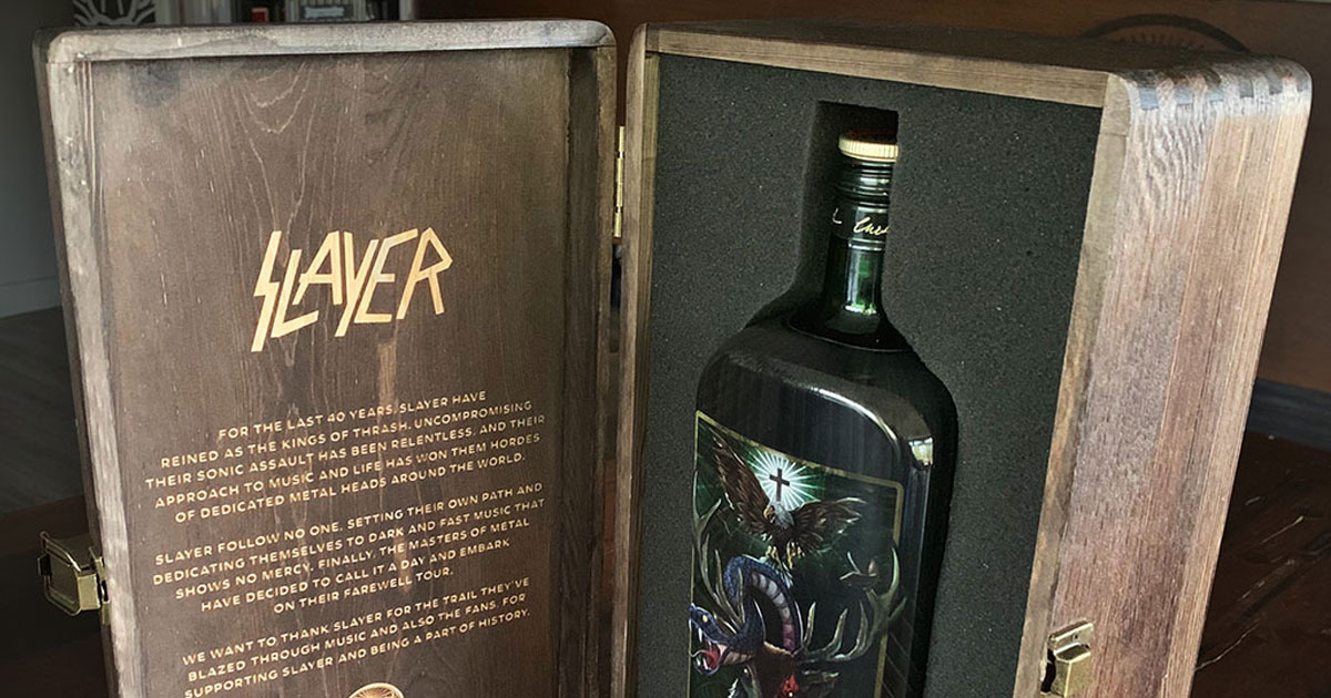 Raining Shots: Jägermeister bringt Slayer-Sonderedition auf den Markt