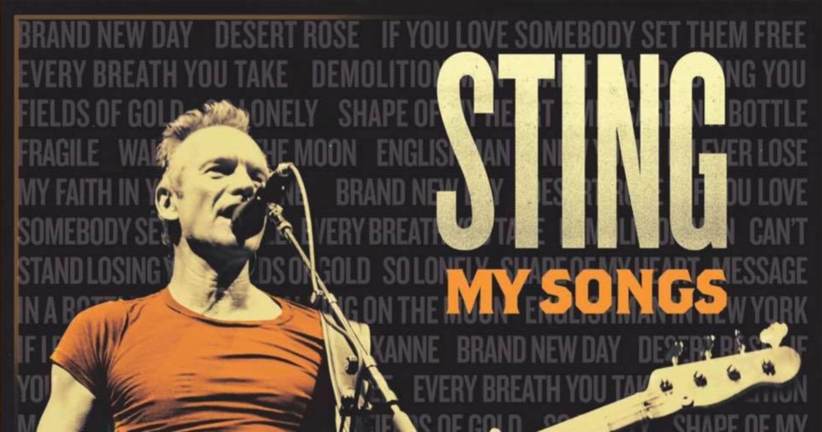 Sting: Cover und Tracklist des neuen Albums enthüllt