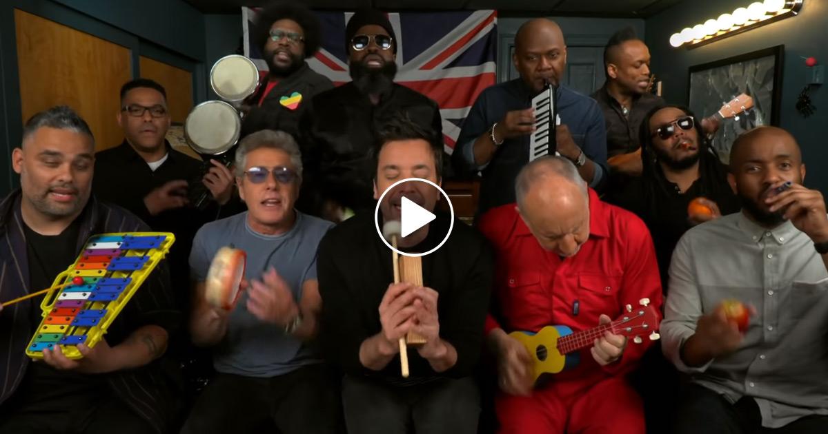 """The Who: """"Won't Get Fooled Again"""" auf Spielzeuginstrumenten"""