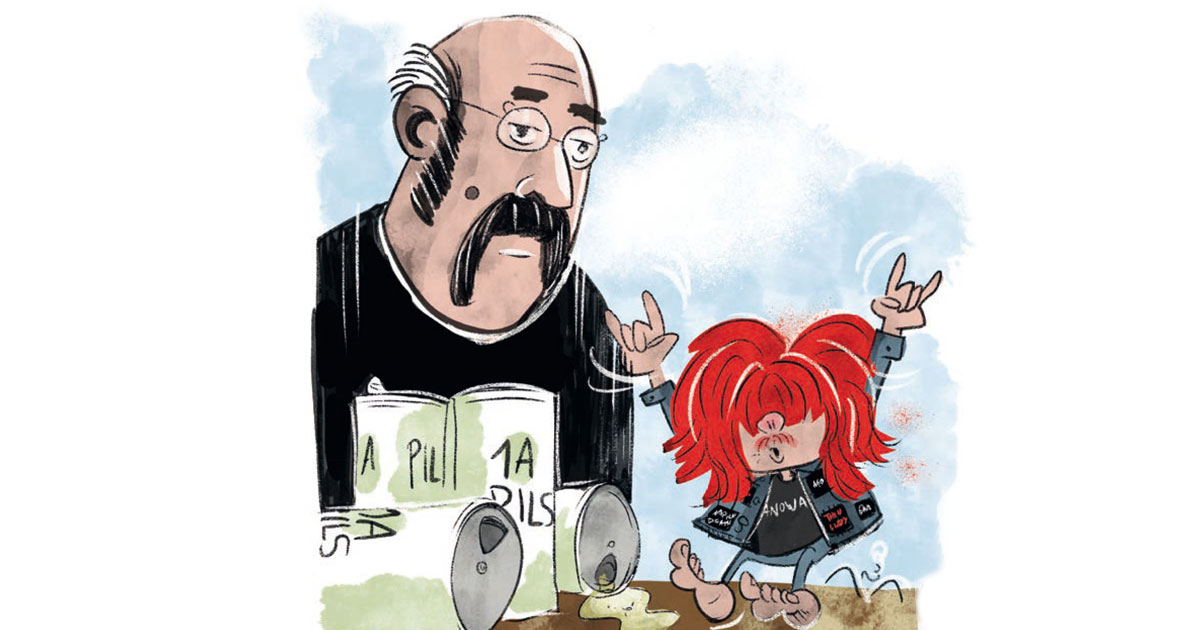 Metal-Kinderbuch: Aus Pumuckl wird TRUEmuckl