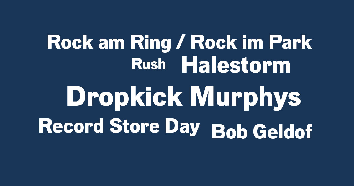Das Rock News-Update am 16.03.2020