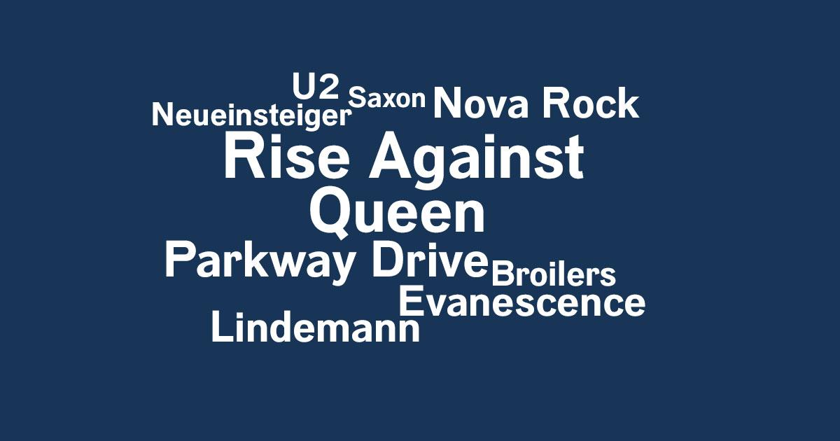 Das Rock News-Update der Woche vom 15. bis 21.03.