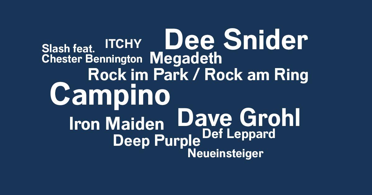 Das Rock News-Update der Woche vom 24.05. bis 30.05.