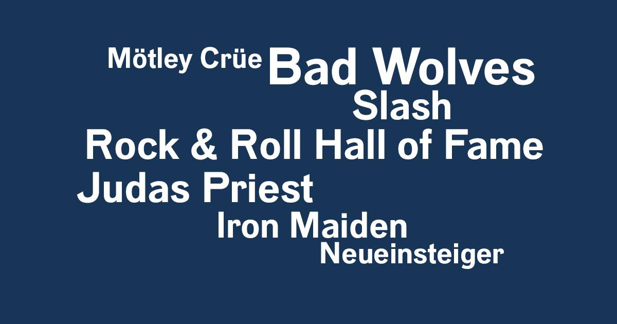 Das Rock News-Update der Woche vom 18.10. bis 25.10.