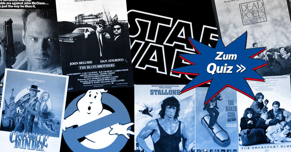 Filmzitate-Raten: Erkennt ihr diese Sprüche aus den 80ern?
