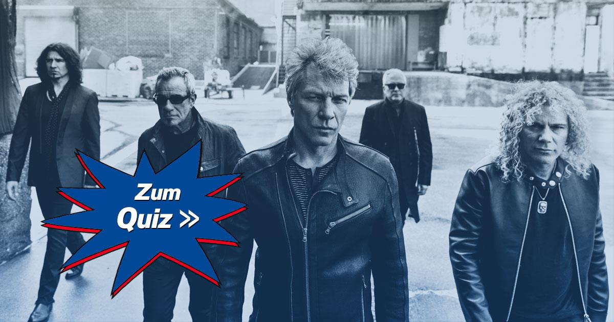 Quiz My Life: Wie gut kennt ihr Bon Jovi?