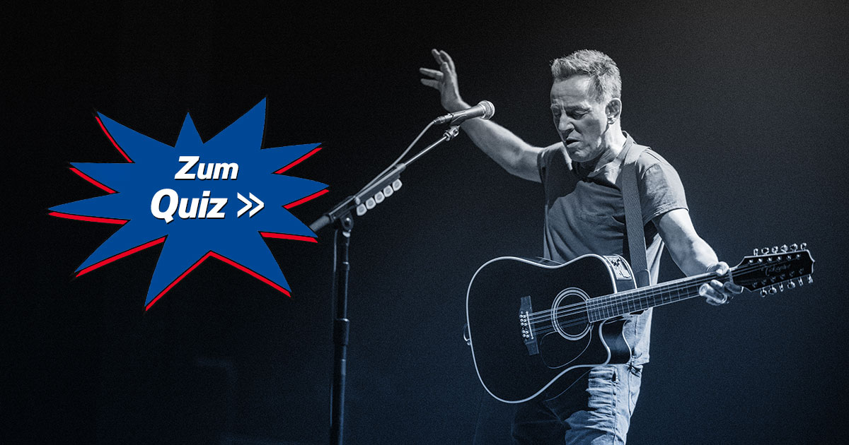 Bruce Springsteen: Wie gut kennt ihr den Boss?