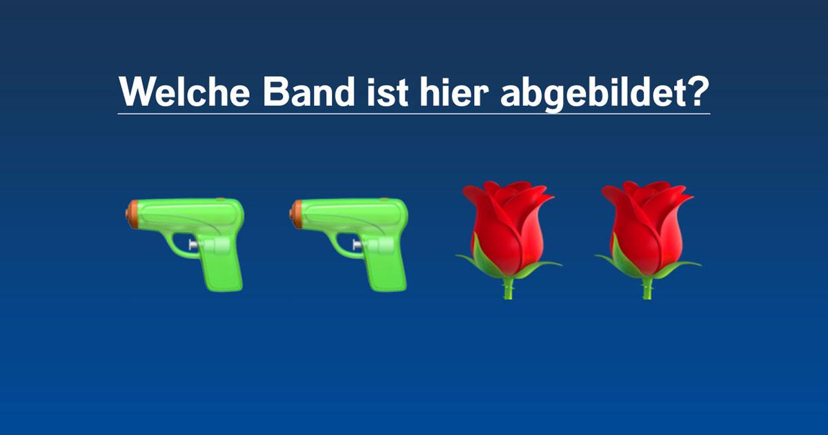 Das ROCK ANTENNE Hamburg Emoji-Quiz: Erkennt ihr diese Songs und Bands?