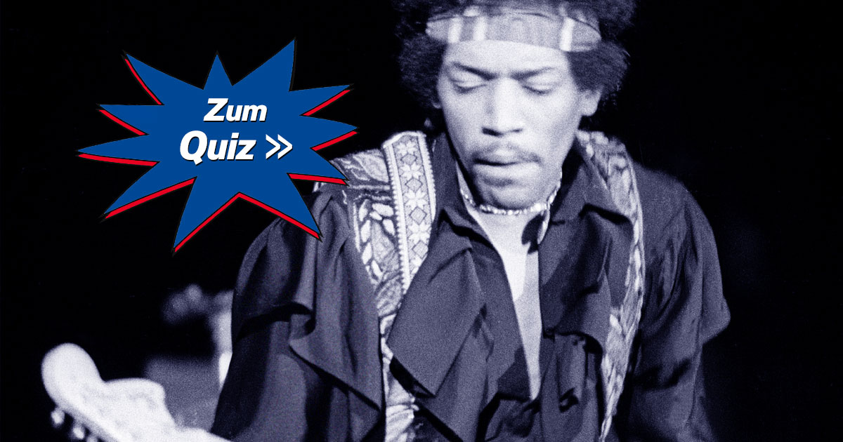 Little Quiz Lover: Wie gut kennst du Jimi Hendrix?