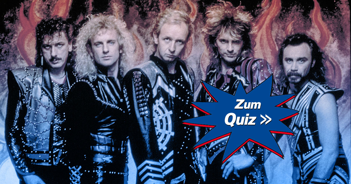 Das große JUDAS PRIEST Quiz: Wie gut kennst du die Metal Gods?