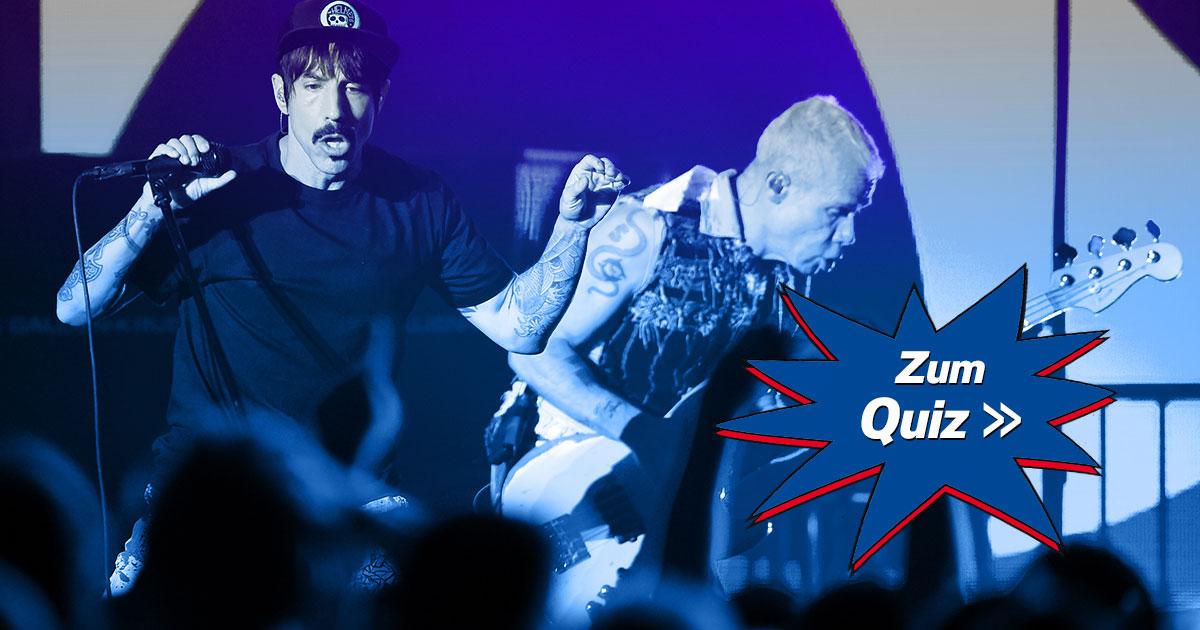 Get On Top: Wie gut kennt ihr die Red Hot Chili Peppers?