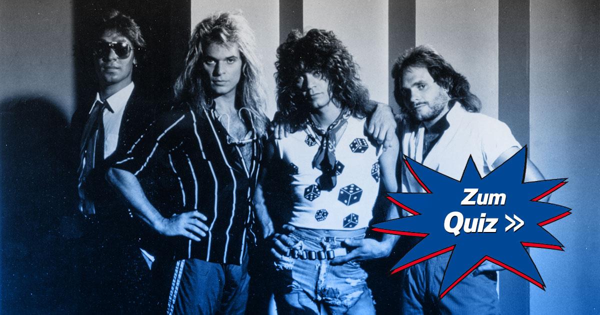 Das große VAN HALEN Quiz: Wie gut kennst du die Hard Rock-Ikonen?