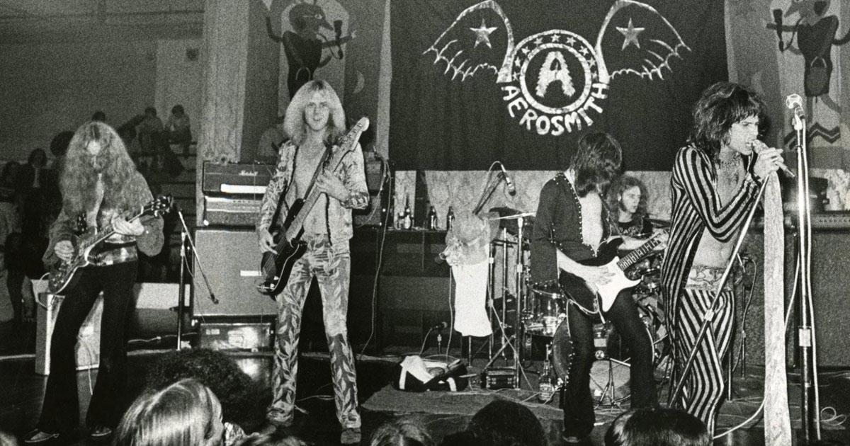 Aerosmith: Unsere Zeitreise zu ihrem ersten Konzert