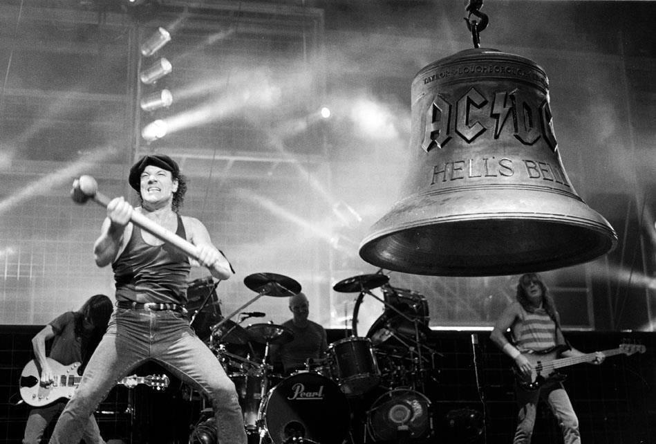 AC/DC: Vor 40 Jahren gab Brian Johnson sein Debüt am Mikrofon