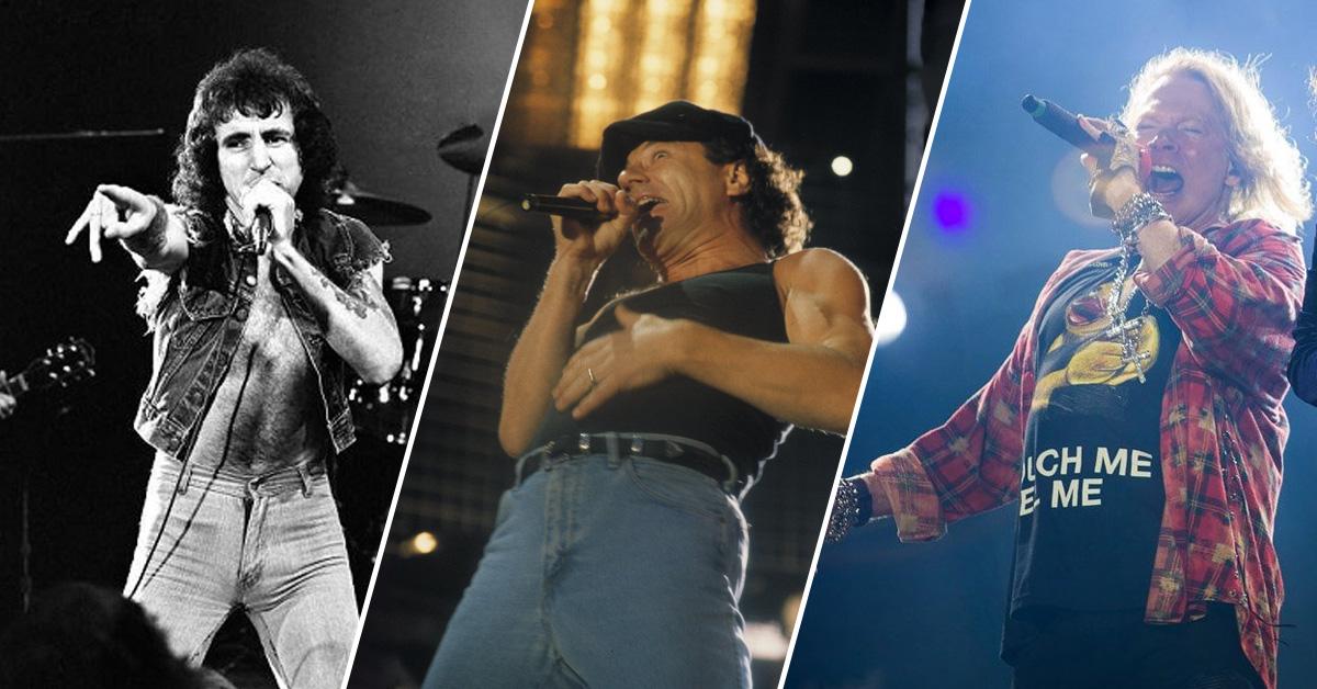 Test: Bon, Brian oder Axl - welcher AC/DC-Sänger bist du?