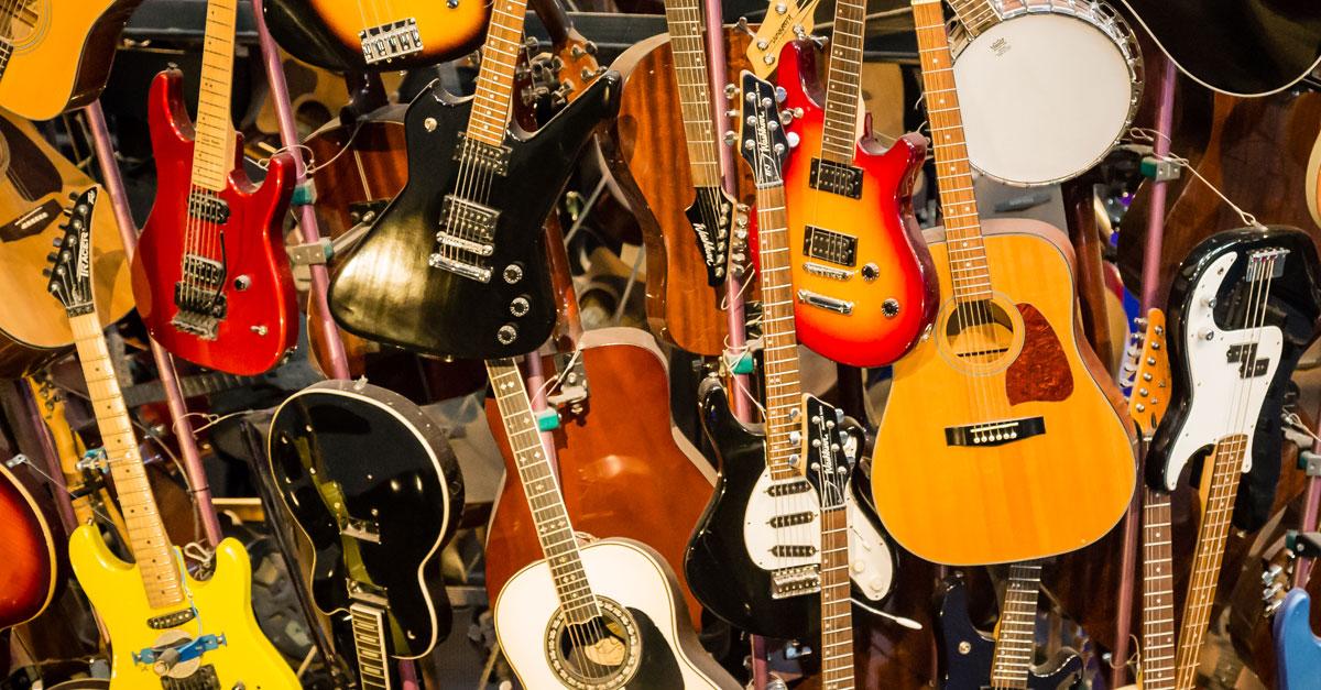 Sechs Saiten für ein Hallelujah - Die legendärsten Gitarren