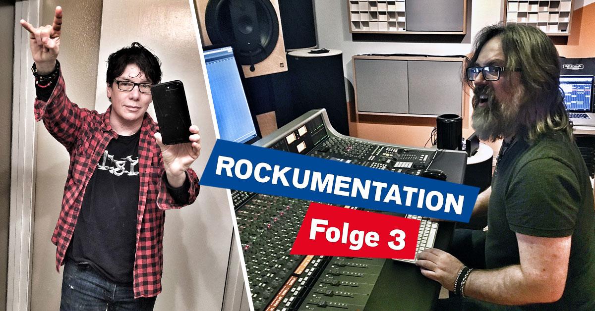 Die ROCKUMENTATION - Folge 3: Studioarbeit - und Mr. Big!