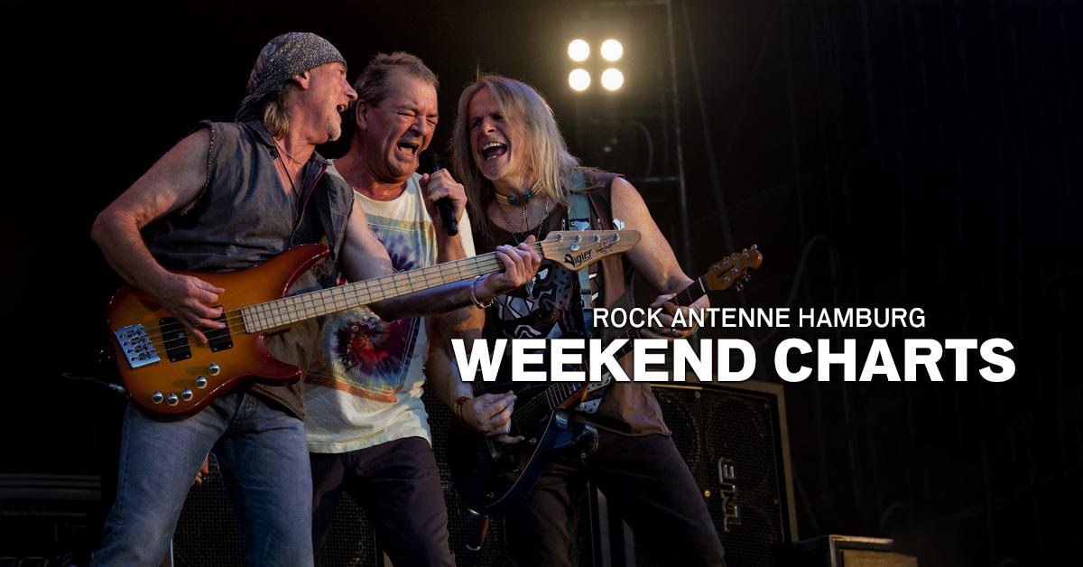 Weekend Charts: Die kultigsten Deep Purple-Songs!