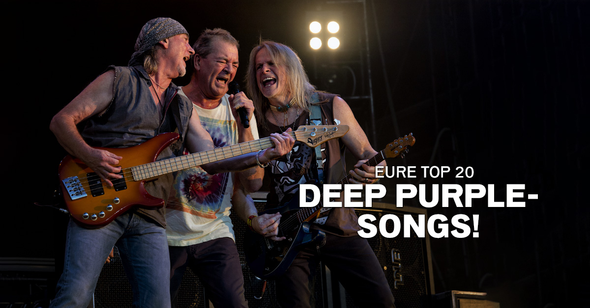Weekend Charts: Eure Top 20 Deep Purple-Songs!