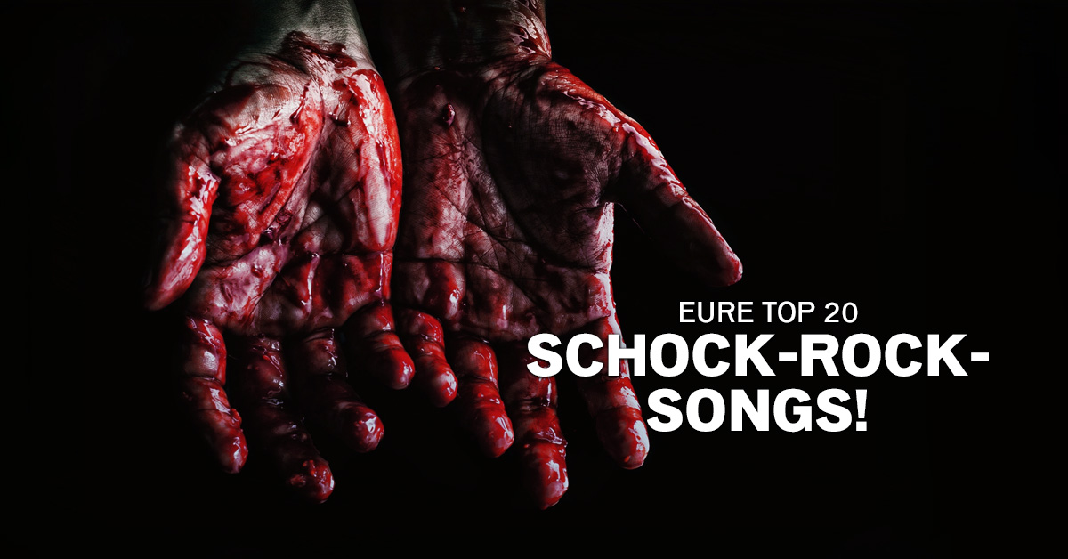 Weekend Charts: Eure Top 20 Schock Rock-Songs!
