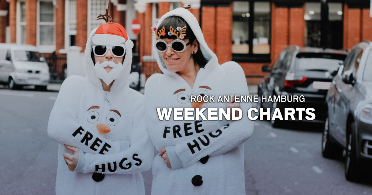 Weekend Charts: Die besten Xmas-Rocksongs!