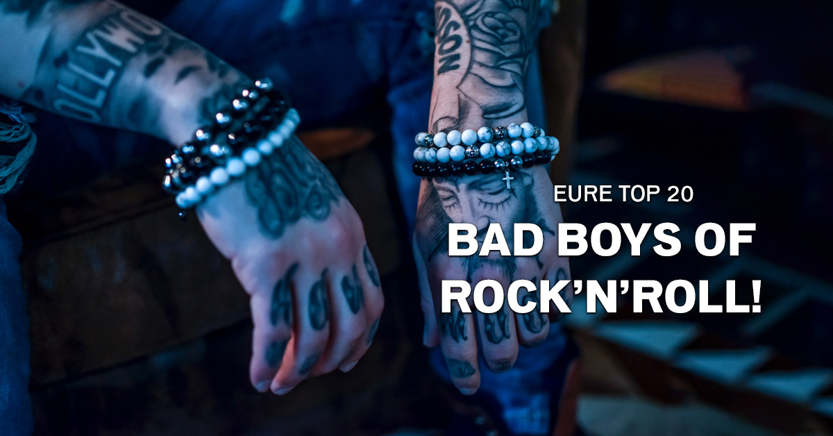 Weekend Charts: Eure Top 20 der Bad Boys of Rock'n'Roll!