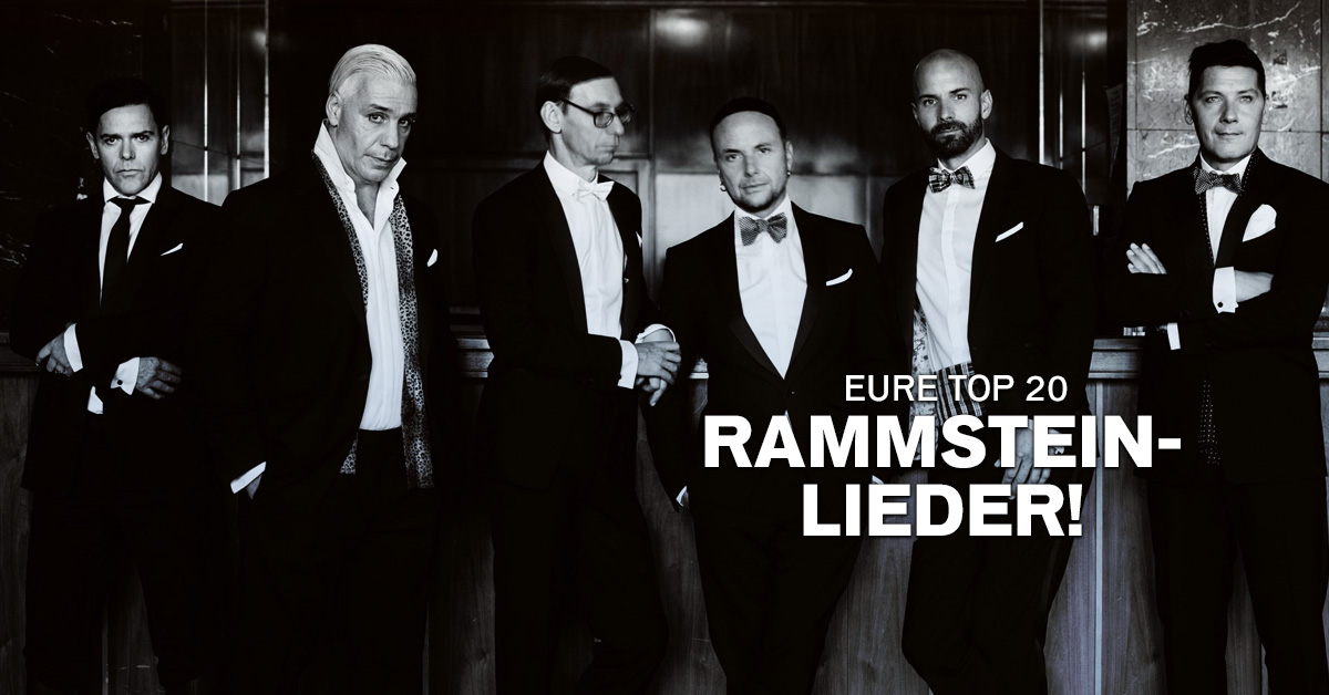 Weekend Charts: Eure Top 20 Rammstein-Lieder!