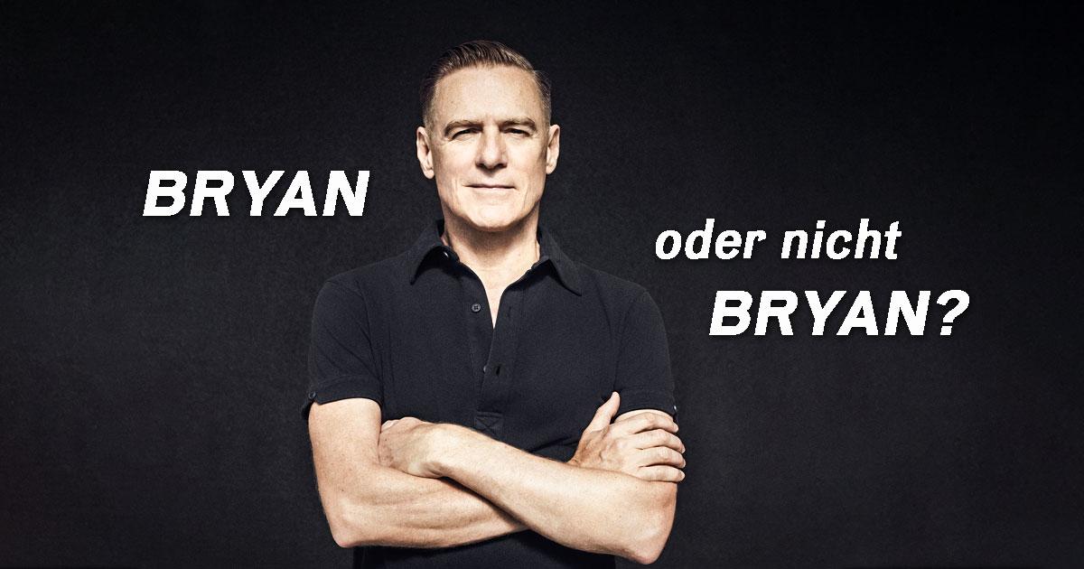 Bryan oder nicht Bryan: Testet euer Wissen über Bryan Adams!