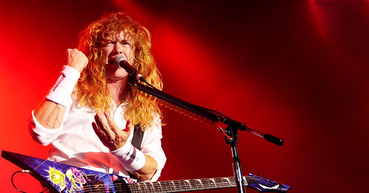 Dave Mustaine: Der Stehauf-Metaler im Porträt