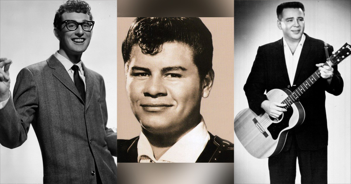 The Day the Music Died: Vor 60 Jahren starben Buddy Holly, Ritchie Valence und The Big Bopper