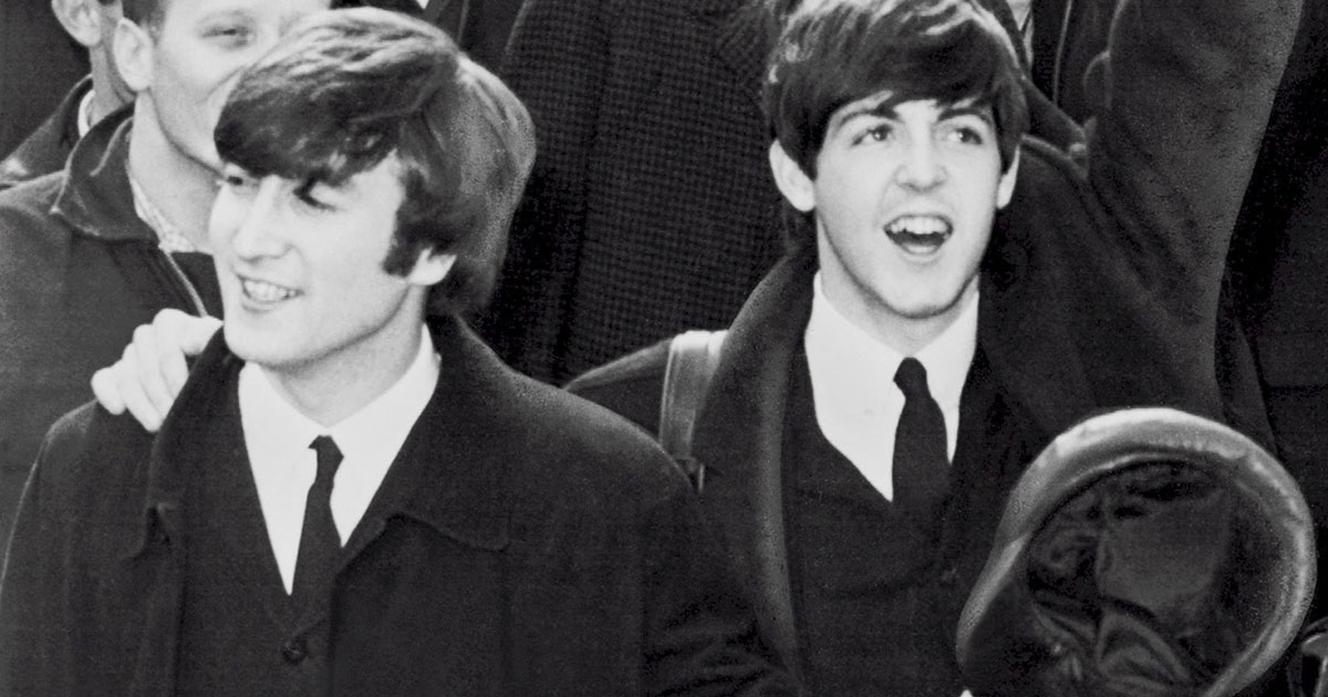 Come Together: John Lennon trifft Paul McCartney