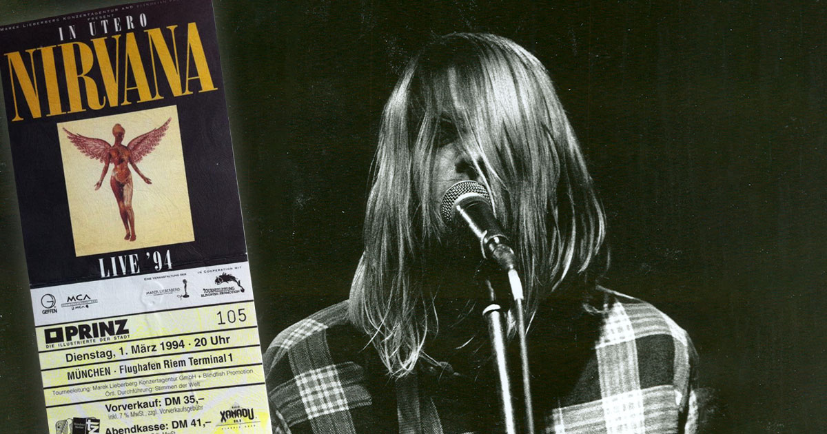 Nirvana: Die ROCK ANTENNE Hamburg Zeitreise zu ihrem letzten Konzert