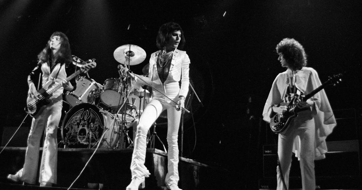 Queen: Das erste Konzert im klassischen Line-Up
