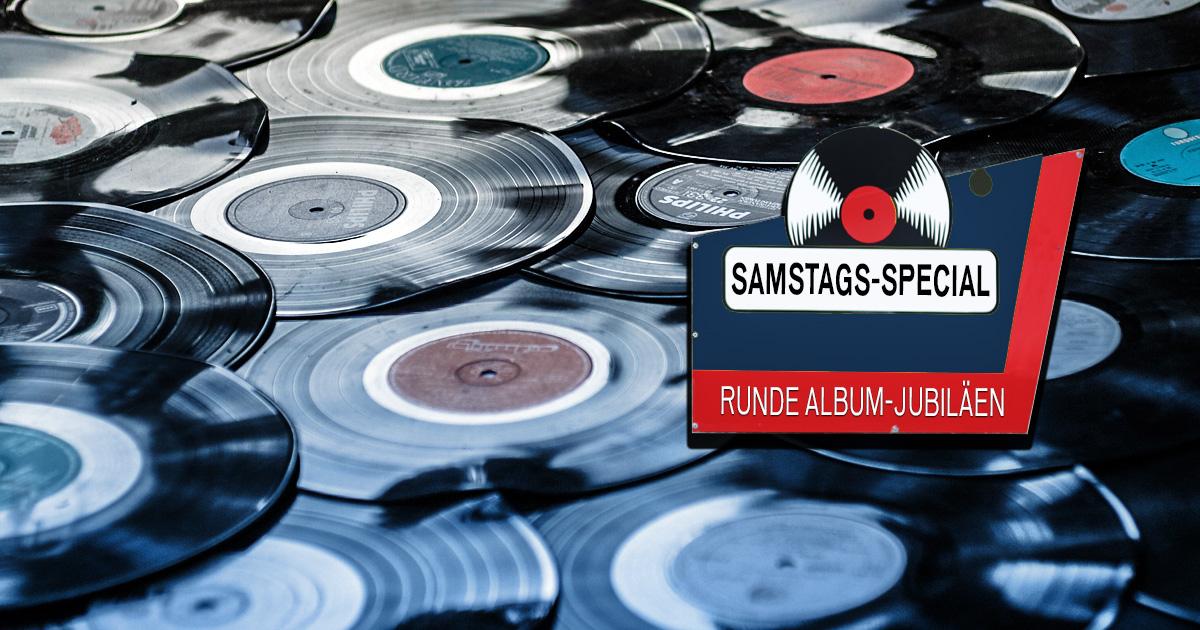 Samstags-Special: Die rundesten Album-Jubiläen - jetzt mitvoten!