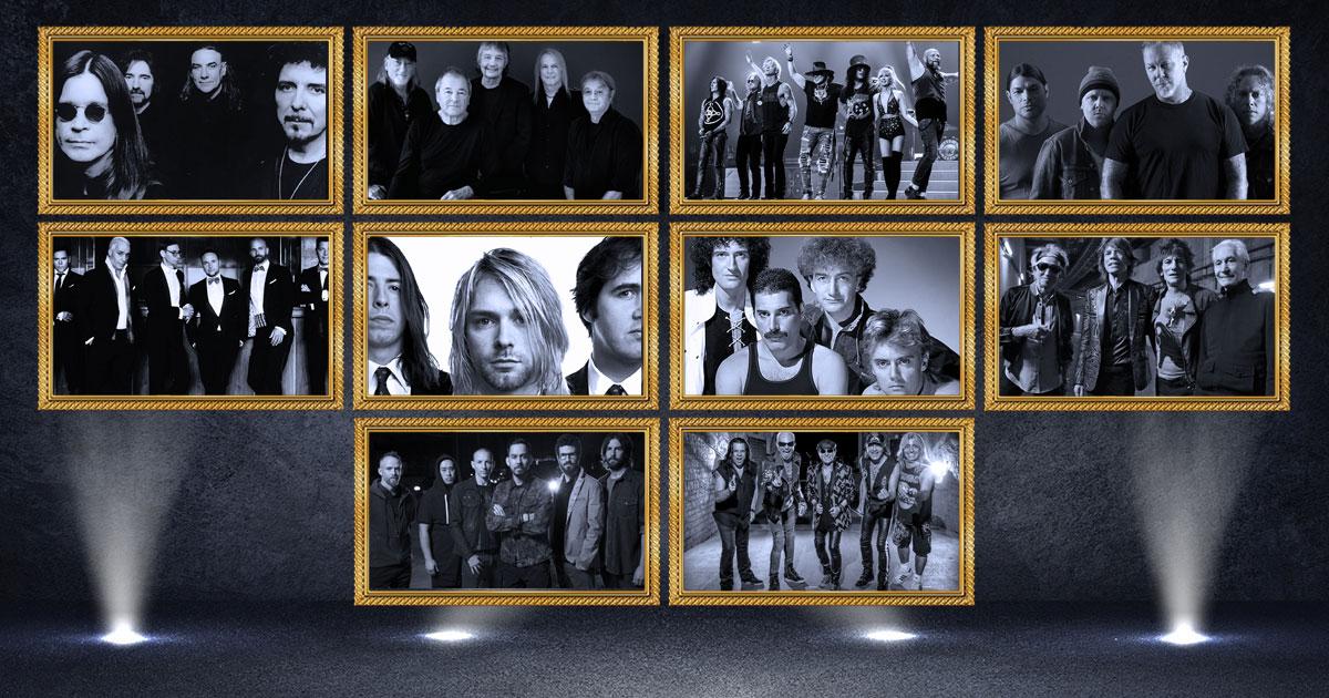 """Hall of Fame 2020: Die Nominierten für die Kategorie """"BAND"""""""