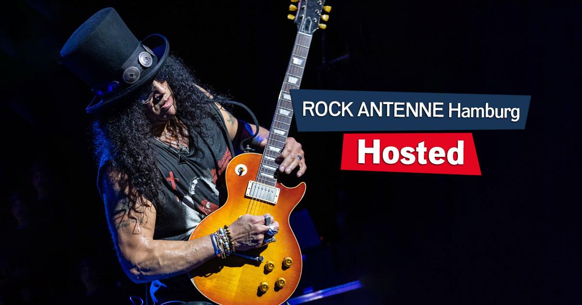 Hosted: Slash am Sonntag im ROCK ANTENNE Hamburg Interview