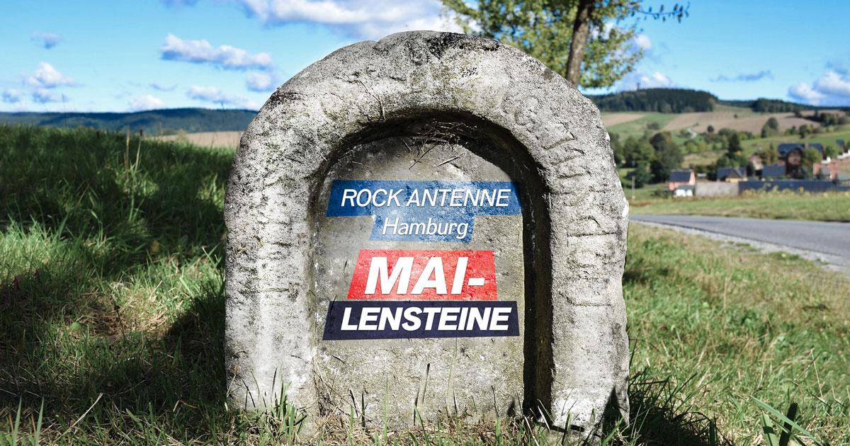 Die ROCK ANTENNE Hamburg MAI-lensteine: Runde Album-Jubiläen zum Durchklicken