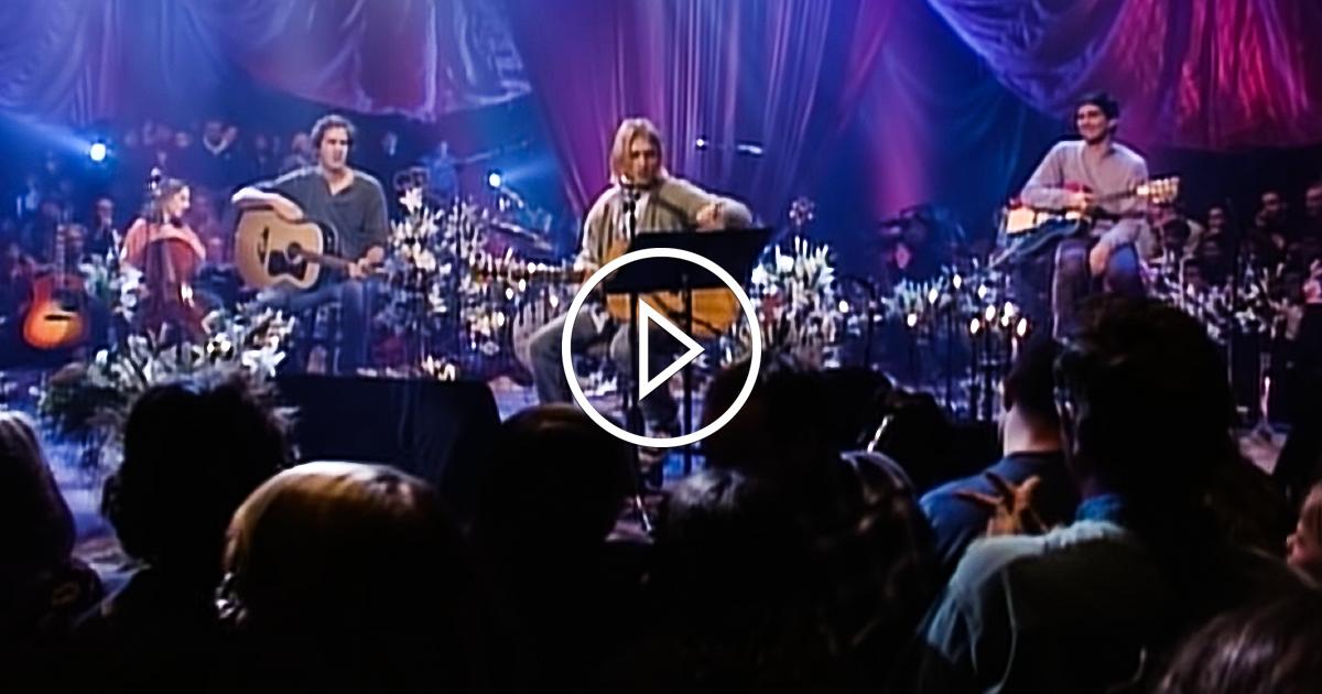 Nirvana live & Unplugged: Das ganze Konzert zum online ansehen