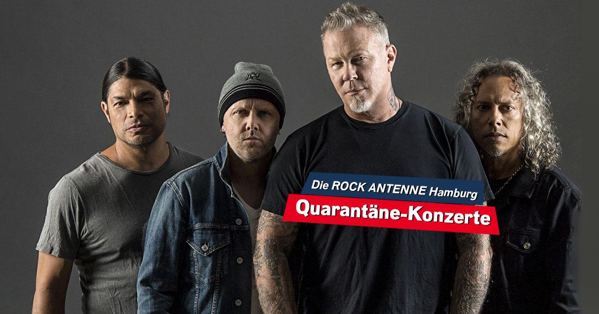 #MetallicaMonday: Seht hier die Metallica-Konzerte im Stream!