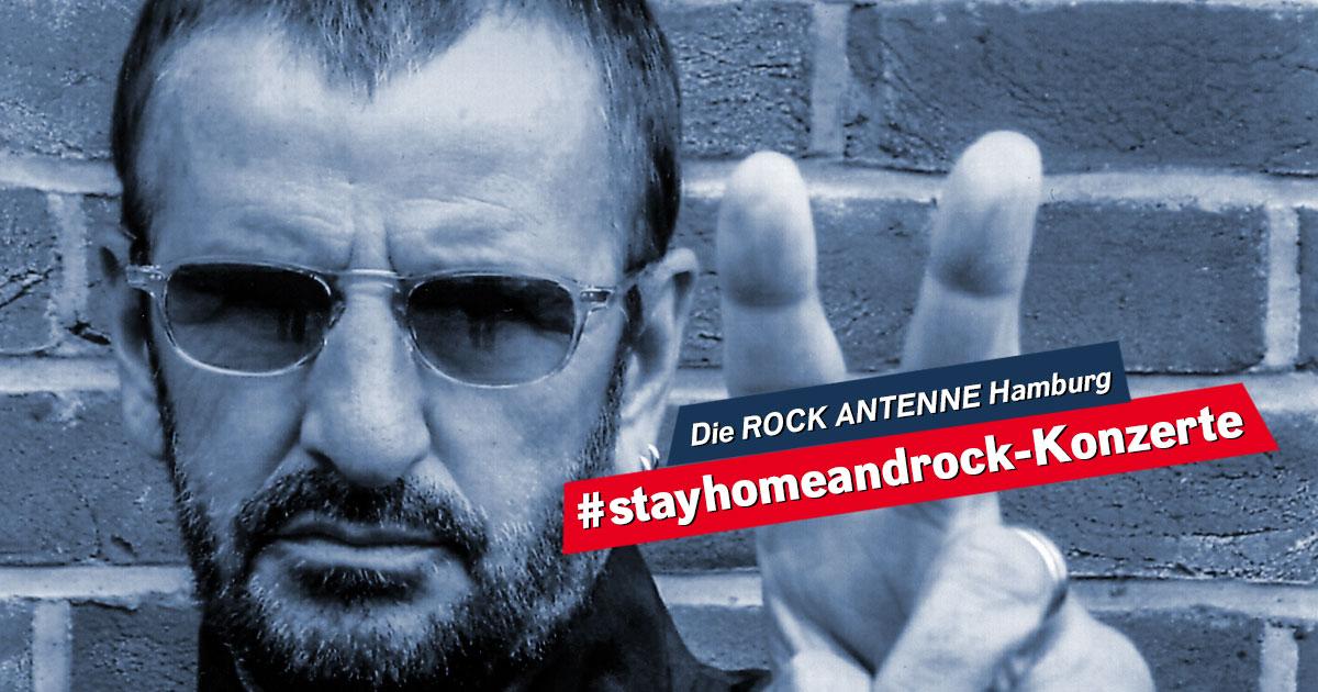 #stayhomeandrock: Seht hier Ringo Starr's Birthday Show im Stream
